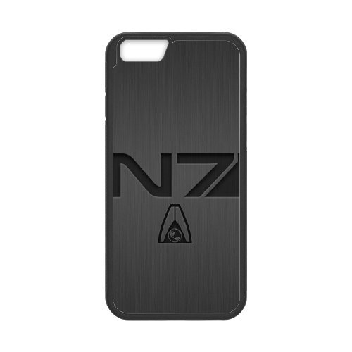 Mass Effect N7 Phone Case And One Free Tempered-Glass Screen Protector For iPhone 6,6S 4.7 Inch T258209