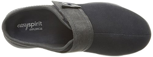 Easy Spirit Women's Eliana Mule Navy/Dark Grey Suede best websites QrgsbnL0