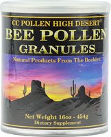 CC POLLEN Bee Pollen Granules Can, 16 OZ (Cc Pollen Pollen Granules)