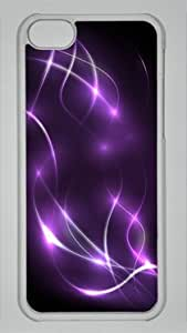 Rainbow Light Elegant DIY Rubber Transparent ipod touch 4 touch 4 Case Perfect By Custom Service