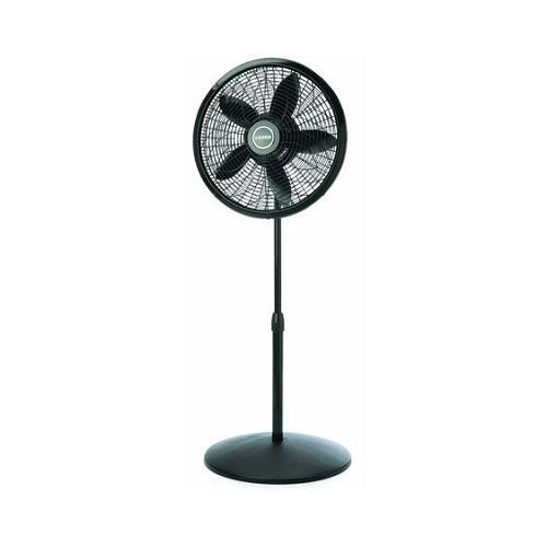 Lasko 1827 Elegance & Performance Pedestal Fan, Black