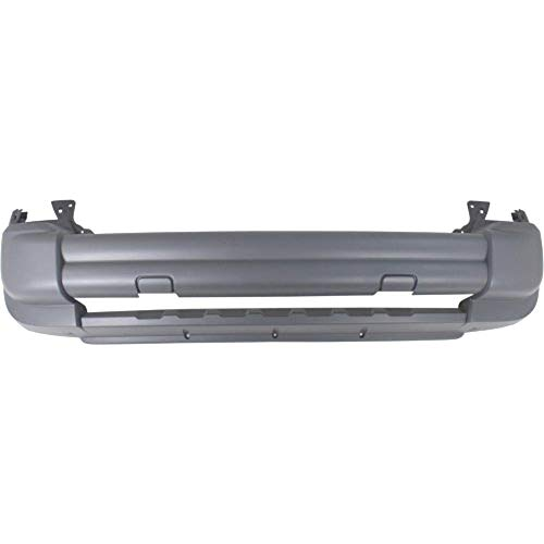 Perfect Fit Group ARBJ010301 - Liberty Front Bumper Cover, Textured, W/O Tow Hook Hole -