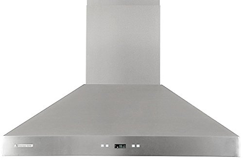 XtremeAir PX03-W36, 36'' wide, LED lights, Baffle Filters W/ Grease Drain Tunnel, 1.0mm Non-Magnetic Stainless Steel Seamless Body, Wall Mount Range Hood by XtremeAIR (Image #2)