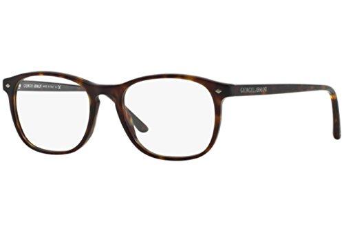 Giorgio Armani Montures de lunettes 7003 Pour Homme Matte Black, 50mm clear