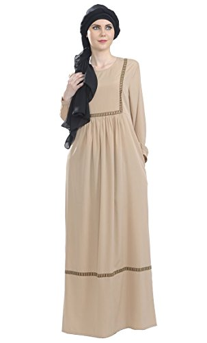 East Sable Longues Manches Robe Essence Solid Femme 8wRHCq