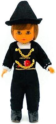 Amazon.es: Folk Artesanía Muñeco Regional colección de 35 cm con Vestido típico Salmantino Charro (Salamanca) España.: Juguetes y juegos