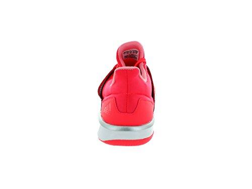 adidas Performance Women's Adipure 360.3 W Training Shoe, Flash Red/Dark Solid Grey/Silver, 7.5 M US