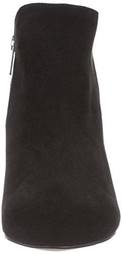La Strada Schwarze Suede-Look Stiefeletten - botas de material sintético mujer negro - Schwarz (2201 - micro black)