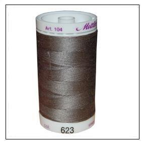 Color 623-100/% Cotton Mettler Silk-Finish 547 Yards