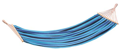 (Stansport Bahamas Single Cotton Hammock (Blue))