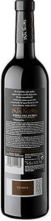Pata Negra Reserva Vino Tinto D.O Ribera del Duero - Pack de 3 Botellas x 750 ml