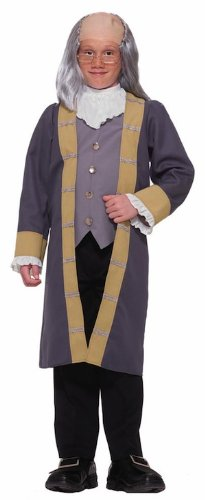 Easy Halloween Costumes For 20 Year Olds (Forum Novelties Child's Ben Franklin Costume, Small)