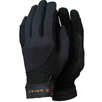 Ariat Men's Insulated Tek Grip Gloves Black (Ariat Black Water)