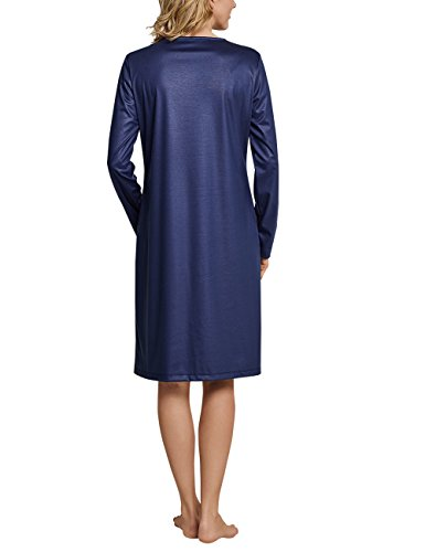 Donna da Blu Notte Dunkelblau 803 Schiesser Camicia PUtw7qxP1