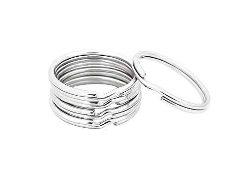 Round Edged Key Ring Split Ring 3/4