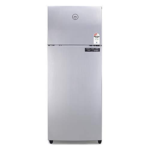 Godrej 261 L 3 Star   2019   Frost Free Double door Refrigerator  RT EON VALOR 261P 3.4 STL RSH, Steel Rush, Inverter Compressor