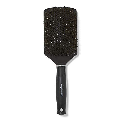 (BeLissPRO Titanium Ceramic Boar/Nylon Cushion Paddle Brush)