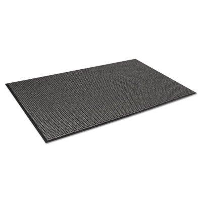Oxford Elite Wiper/Scraper Mat, 24 x 36, Black/Brown (6 Pack)