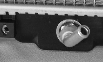 TYC 2354 Honda Civic 1-Row Plastic Aluminum Replacement Radiator