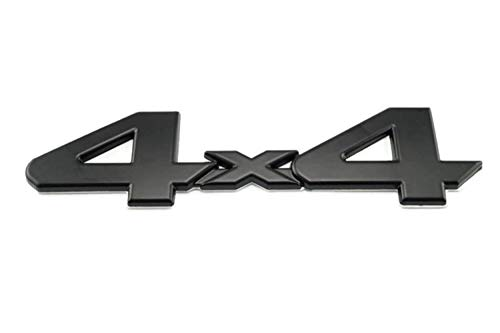 - Black 4X4 Emblem/Badge For Truck/Suv/Pickup Rear Tailgate Tail Gate Door 4Wd for Tacoma Tundra
