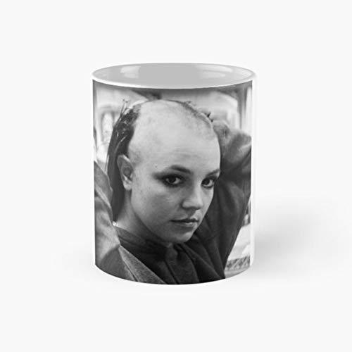 Bald Britney Mug, britney Cup, 11 Ounce Ceramic Mug, Perfect Novelty Gift Mug, Funny Gift Mugs, Funny Coffee Mug 11oz, Tea Cups 11oz