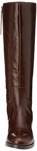Clarks Marquette Silk - botas bajas de cuero mujer Marrón (Dark Brown Lea)