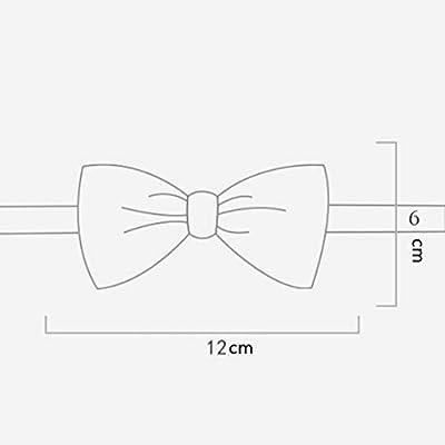 WXFC Corbata de Mariposa Nudo Corbata de Seda Nudo Corbata de moño ...