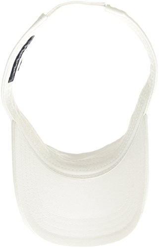 b7f5a737 Tommy Hilfiger Men's Dad Hat Flag Solid Cotton Visor, Classic White ...