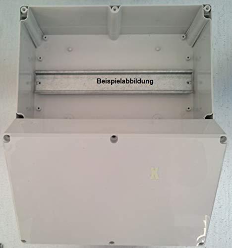 82x80x56mm, grau ABS Industriegeh/äuse Klemmkasten IP66 mit Hutschiene