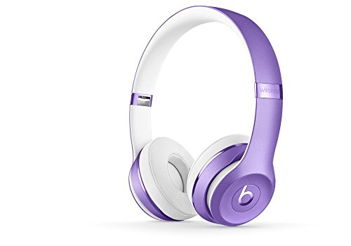 Beats Solo3 Wireless On-Ear Headphones – Ultra Violet (Renewed)