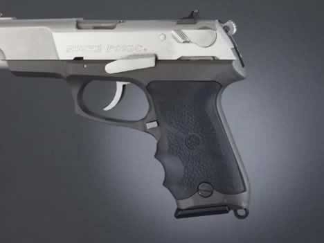 Hogue Ruger P85-P91 Grips 85000 (Best Holster For Ruger P95)