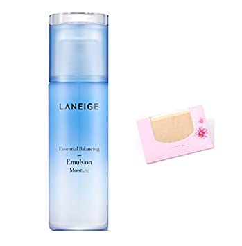 Laneige Essential Balancing Emulsion Moisture 120ml SoltreeBundle Natural Hemp Paper 50pcs