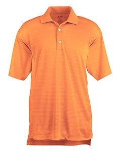Adidas Climalite Polo Shirt (AD MENS CLIMA LITE TEXT SS POL (LIGHT ORANGE) (2XL))