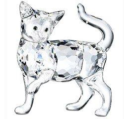 Swarovski Crystal Mother Cat