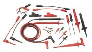 Probe Master DMM Test Lead Kit, 9100, Retractable Plug ()
