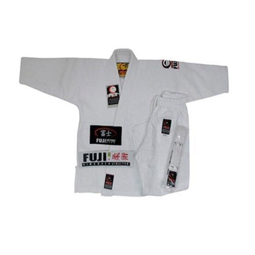 (Fuji Kid's BJJ Uniform, White,)