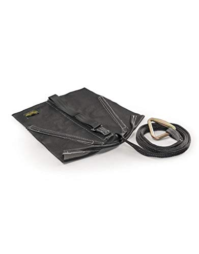 Neptune Carpet - Spud, Inc. Magic Carpet Sled with Strap Attachment Sewn in (Black)