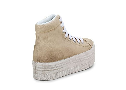 JC PLAY BY JEFFREY CAMPBELL HOMG WASHED CANVAS NATURAL (39)