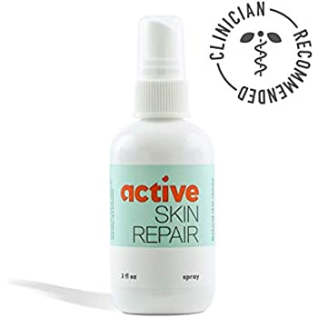Active Skin Repair Spray - The Natural & Non-Toxic Healing Ointment & Antiseptic Spray for Minor cuts, scrapes, rashes, sunburns and Other Skin irritations (Single, Spray)