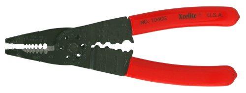 Xcelite 104CGV 10 Gauge to 22 Gauge Wire Stripper and Crimper