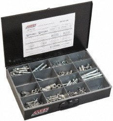 57212730 Import - 192 Piece, #10 to 1/2 Screw, Steel Anchor Assortment by Import