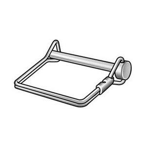 Safety Pin, Snap, Zinc, 5/16x2 1/2 L
