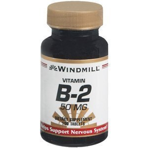 Special Pack of 5 WINDMILL VITAMIN B-2 50MG 100'S