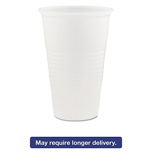 Dart 20N 20-Ounce Translucent Plastic Cold Cup (20 Packs of 50)