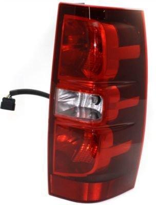 Evan-Fischer EVA15672021304 Tail Light Passenger Side RH Plastic lens OE design Clear and red DOT, SAE - Side Passenger Design