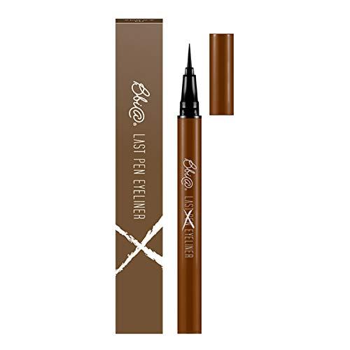 BBIA Last Pen Eyeliner, Waterproof Ink Type (03 Choco Brown) 0.02 Ounce (Best Ink Pen Eyeliner)