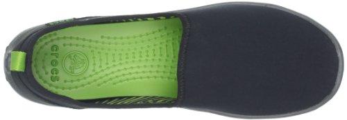 Crocs Duet Sport Skimmer - Zapatos sin cordones de sintético mujer Nero (Black/Graphite)