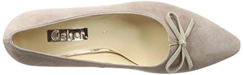 Gabor Shoes Fashion, Zapatos de Tacón para Mujer Beige (dark nude/visone 14)