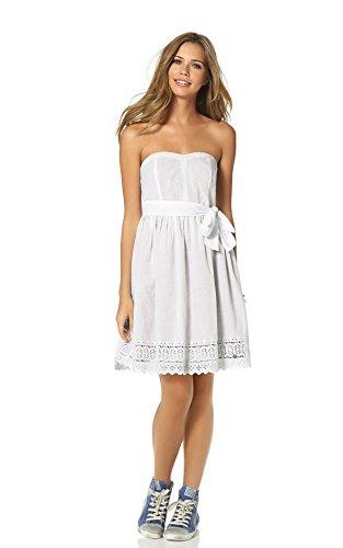 Mujer Trapecio 38 Blanco Ajc Opaco Vestido para 1OwqBTw
