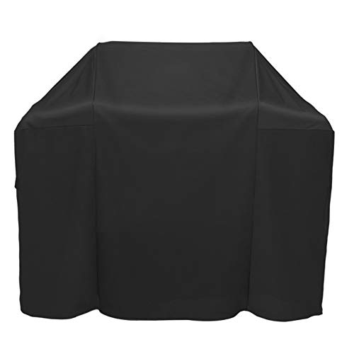 ProHome Direct Heavy Duty Waterproof Grill Cover for Weber 7138 Spirit 200 and Spirit II 200 Series 2 Burners Gas Grills (Replacement of Weber 7138 Grill Cover),Black ()